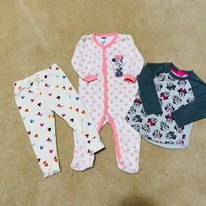 Minnie Mouse Bundle Toddler clothes
